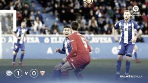 La contracrónica: Alavés y Sevilla intercambiaron sus papeles