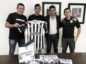 Samuel Sosa es nuevo jugador de Talleres de Córdoba