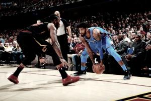 Trio brilha, Thunder atropela Cavaliers e LeBron James não atinge marca histórica
