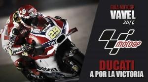 Ducati: con la victoria entre ceja y ceja