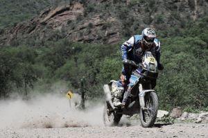 Duclos vence en la sexta etapa del Dakar, Coma, más líder