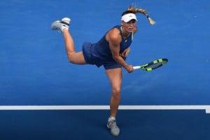 Australian Open 2018 - Wozniacki in carrozza