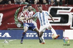 Duda, mejor jugador del Málaga ante el Sporting para los lectores de VAVEL