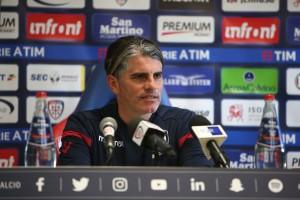 """Cagliari, Lopez presenta la sfida di Crotone: """"E' uno scontro salvezza, va affrontato come tale"""""""