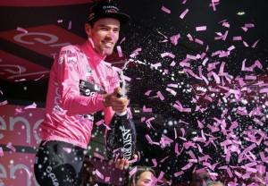 """Tom Dumoulin: """"Cuando vi la posibilidad de vestirme de rosa aproveché la oportunidad"""""""