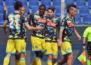 Duván Zapata marcó un gol y Zúñiga volvió a jugar con Napoli