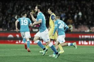 Napoli 3-1 Chievo: Partenopei prevail to heap pressure on Juve