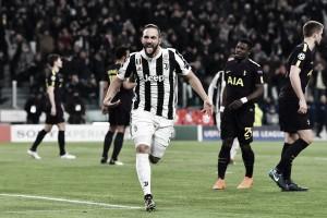 Higuain fa, la Juventus disfa: 2-2 contro il Tottenham e qualificazione in salita