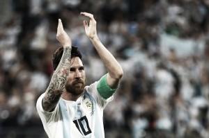 """Messi destaca classificação dramática contra Nigéria: """"Foi um alívio conseguir a vitória"""""""