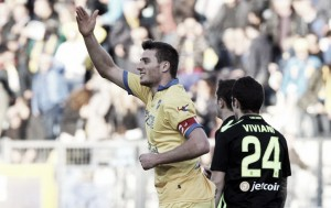 Frosinone 3-2 Verona: Ciofani nets brace as hosts edge basement battle