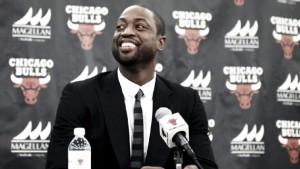 """Nba, ecco Wade a Chicago: """"Arrivo nella squadra di Jimmy Butler"""""""