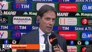 """Lazio, Inzaghi nel post partita: """"Siamo arrivati a marzo in corsa su tutti e tre i fronti e vogliamo restarci"""""""