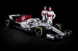 Formula 1 - Presentata la nuova Alfa Romeo-Sauber