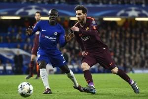 Champions League - Messi risponde a Willian: 1-1 tra Chelsea e Barcellona