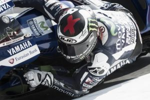 MotoGP, Lorenzo in testa nel terzo turno di libere a Misano