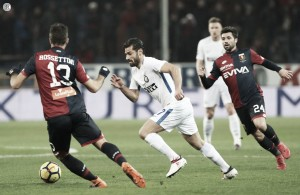 Serie A: torna nel baratro l'Inter, che Genoa! A Marassi finisce 2-0