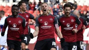 1. FC Nürnberg 3-1 MSV Duisburg: Hanno Behrens and EduardLöwen fire Der Club top