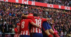 اتلتيكو مدريد يواصل سلسلة انتصاراته لمطاردة برشلونة
