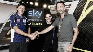 Fenati y Rossi, la pareja perfecta en el Sky Racing Team VR46