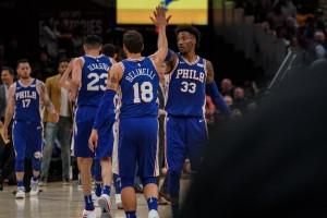 NBA - Ai Cavs non basta LeBron, ad esultare sono i 76ers
