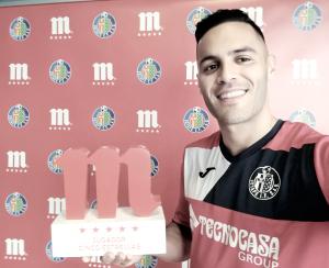 Bruno, mejor jugador del Getafe en febrero
