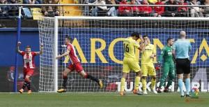 La Liga - Un super Girona mette KO il Villarreal: Stuani e Lozano abbattono il Submarino Amarillo