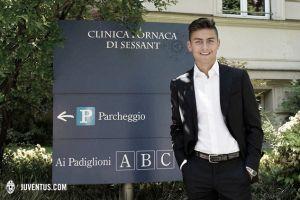 Dybala llega a Turín
