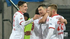 Fortuna Düsseldorf 4-2 Arminia Bielefeld: Second half blitz maintains die Flingeraner's march to the Bundesliga