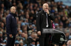 Sean Dyche believes Burnley deserved 'a bit more' in heavy Manchester City defeat