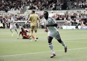 Swansea 3-0 West Brom: Dyer (2) and Routledge give The Swans another win
