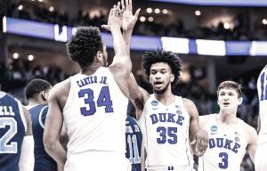 Duke consegue vitória fácil sobre Rhode Island e se classifica no March Madness