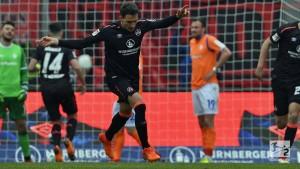 1. FC Nürnberg 1-1 SV Darmstadt 98: Der Club battle back to earn a point