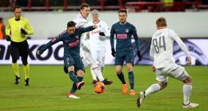 Europa League - Passeggiata russa per l'Atletico Madrid: 1-5 alla Lokomotiv Mosca