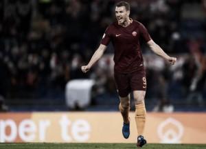 Dzeko marca, Roma vira contra Sassuolo e mantém vice-liderança da Serie A