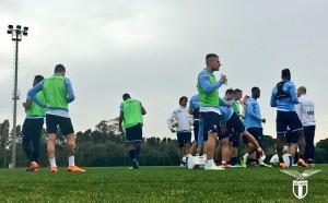 Lazio, le ultime da Formello: tutti in gruppo tranne Lukaku