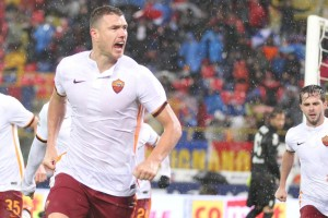 Pioggia e botte al dall'Ara: Bologna - Roma finisce 2-2