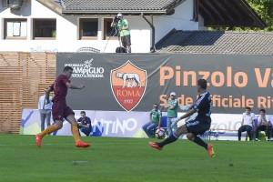 Roma ok nel segno di Perotti e Dzeko: 3-2 al Terek Grozny
