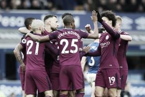 Gabriel Jesus quebra jejum, City faz primeiro tempo magnífico e derrota Everton