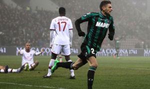 Il Milan affonda sotto i colpi di Berardi