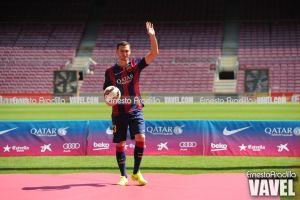 Fotos e imágenes de la presentación de Thomas Vermaelen, por el FC Barcelona
