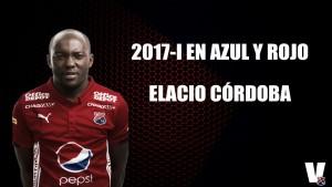 2017-I en azul y rojo: Elacio Córdoba