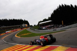 Spa, FP2: davanti le Red Bull, Mercedes nascoste