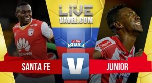 Con autogol de Correa, Santa Fe logró el triunfo ante el Junior de Barranquilla (1-0)