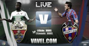 Elche vs Levante en vivo y en directo online