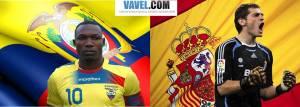 Ecuador vs España, así lo vivimos