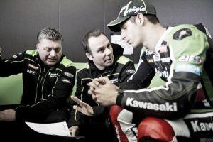 """David Salom: """"Creo que Donington es un circuito que le va bien a mi Kawasaki"""""""
