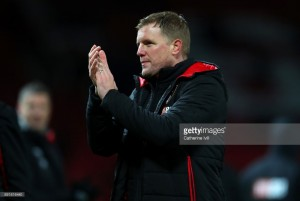 Eddie Howe: 1-0 loss to Manchester United difficult to take