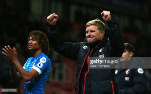 Referee got two big decisions wrong in win over Stoke, says Bournemouth boss Eddie Howe