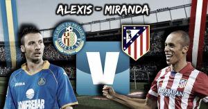 Los cara a cara del derbi: Alexis - Miranda