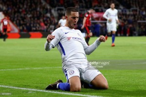 Bournemouth 0-1 Chelsea: Eden Hazard's first league goal of the season results in three points